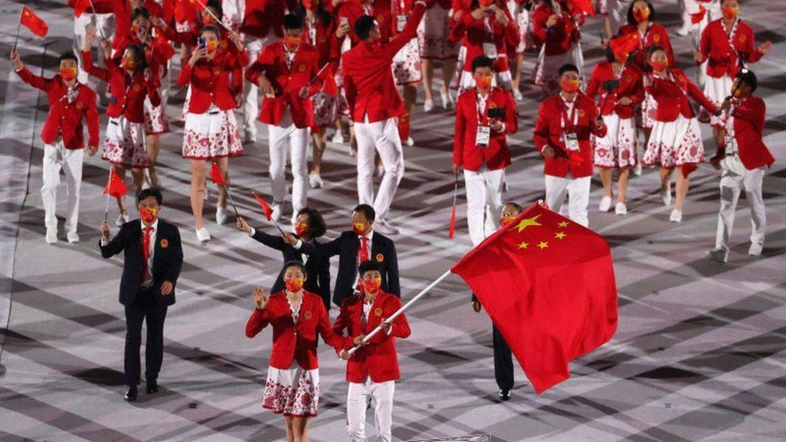 کاروان ورزشی چین در المپیک توکیو 2020