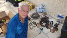 بیت المقدس : اسرائیلی کھدائی کے دوران اردنی فوجی کی باقیات کا انکشاف