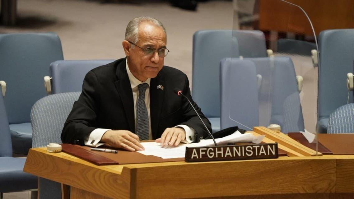 مندوب أفغانستان لدى الأمم المتحدة، غلام إيزاكزاي
