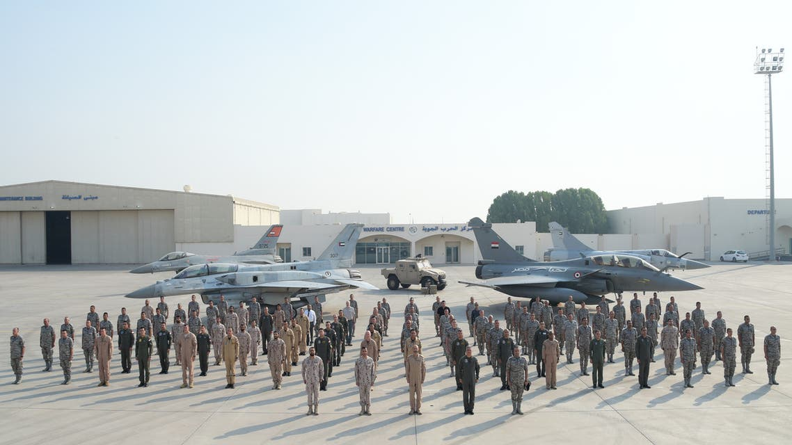 UAE and Egypt conclude 'Zayed 3' military exercise. (WAM)
