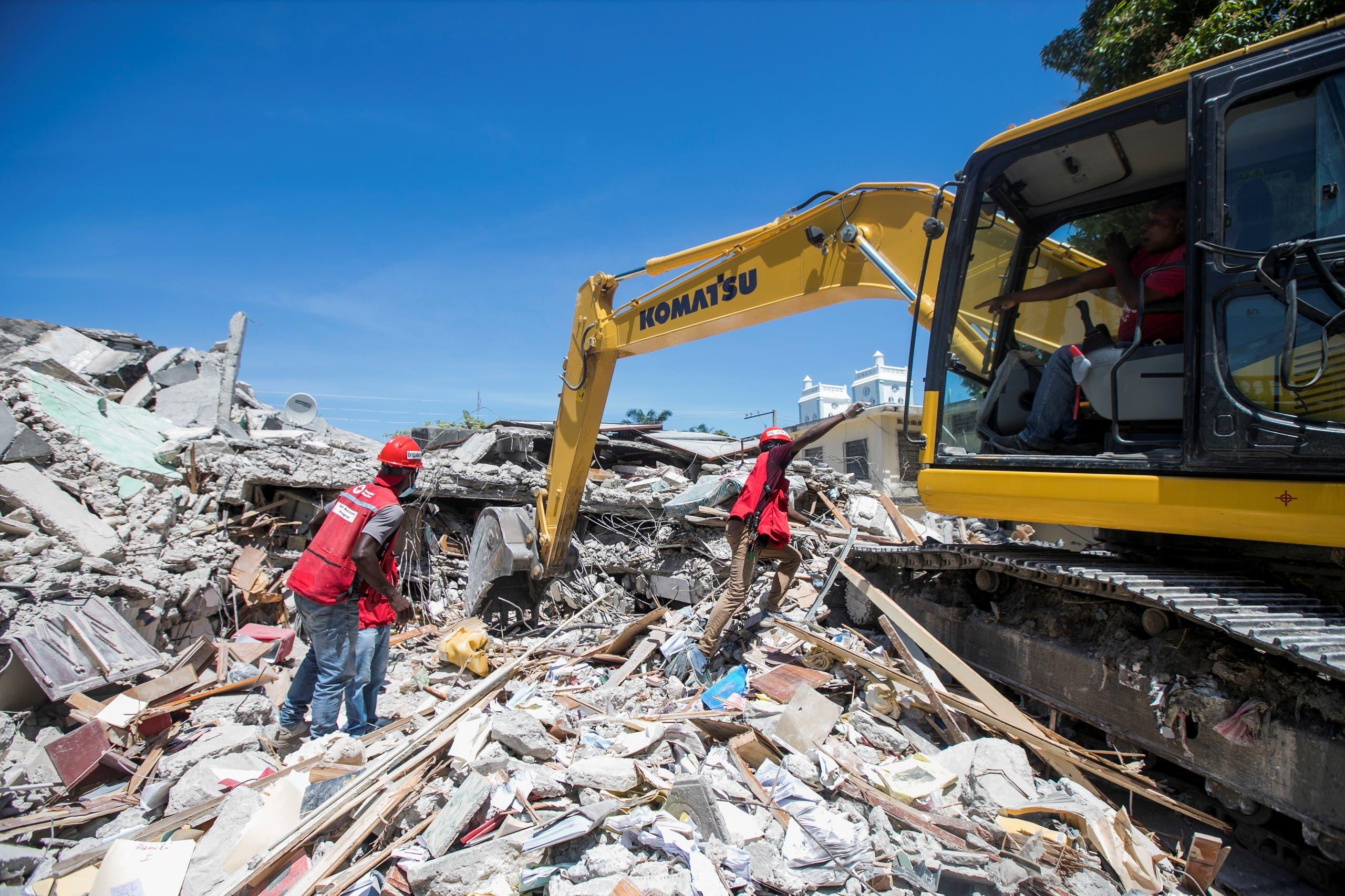 زلزال هايتي (رويترز)