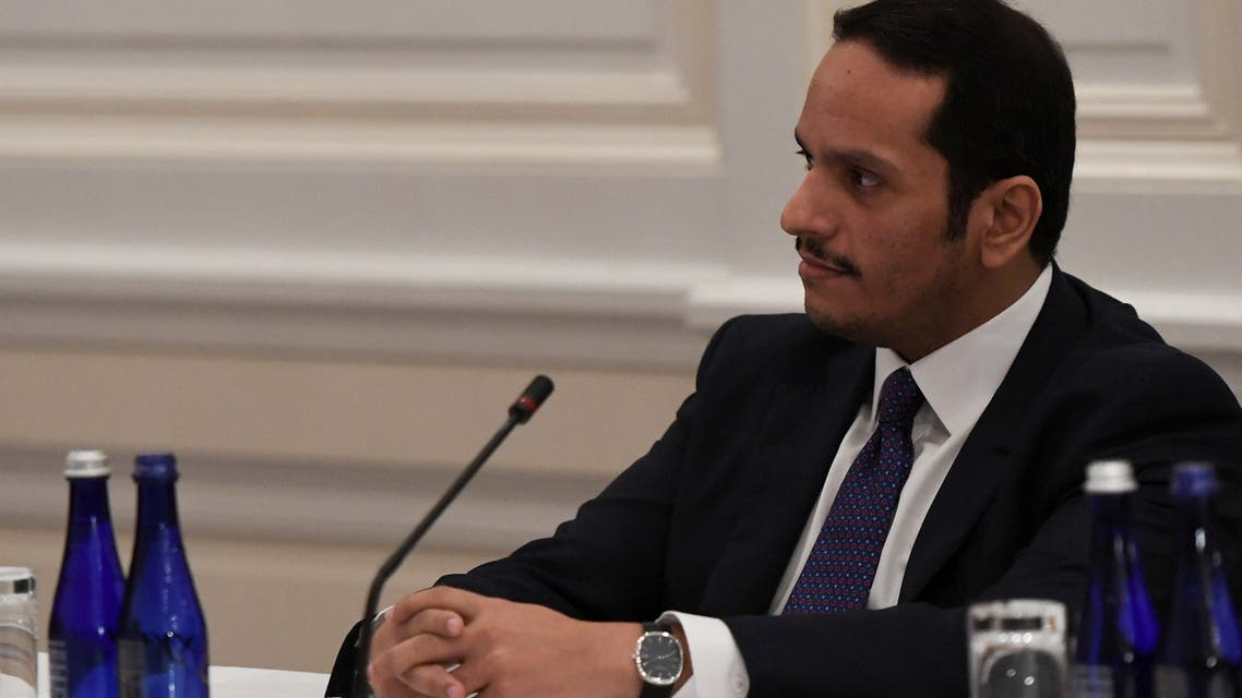 Qatar's Deputy Prime Minister Mohammed bin Abdulrahman al-Thani listens to U.S. Secretary of State Mike Pompeo (not pictured) speak while attending a Gulf Cooperation Council summit on the sidelines of the United Nations General Assembly in New York City, US September 28, 2018. (File photo: Reuters)