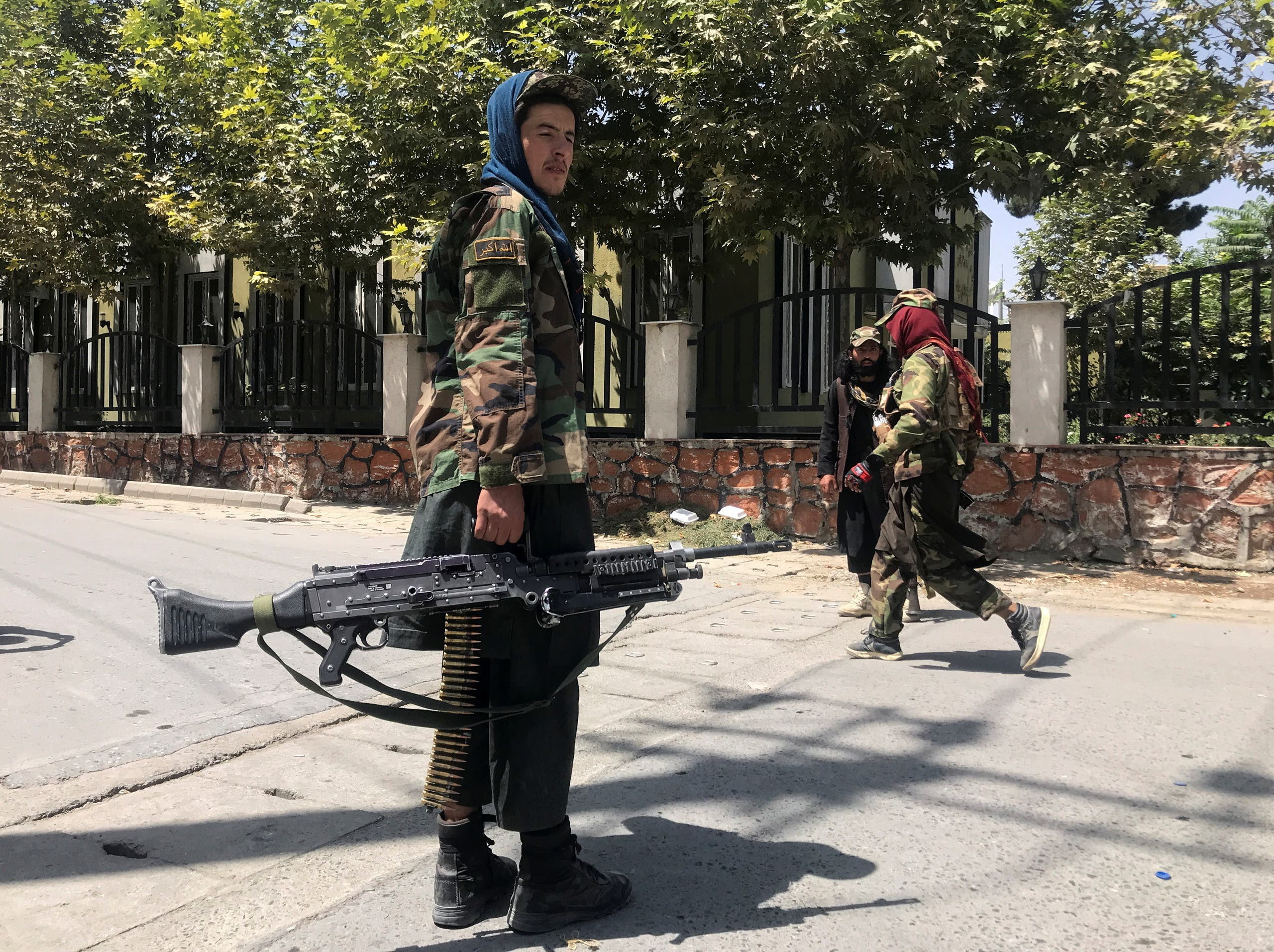 کابل کی گلیوں میں طالبان