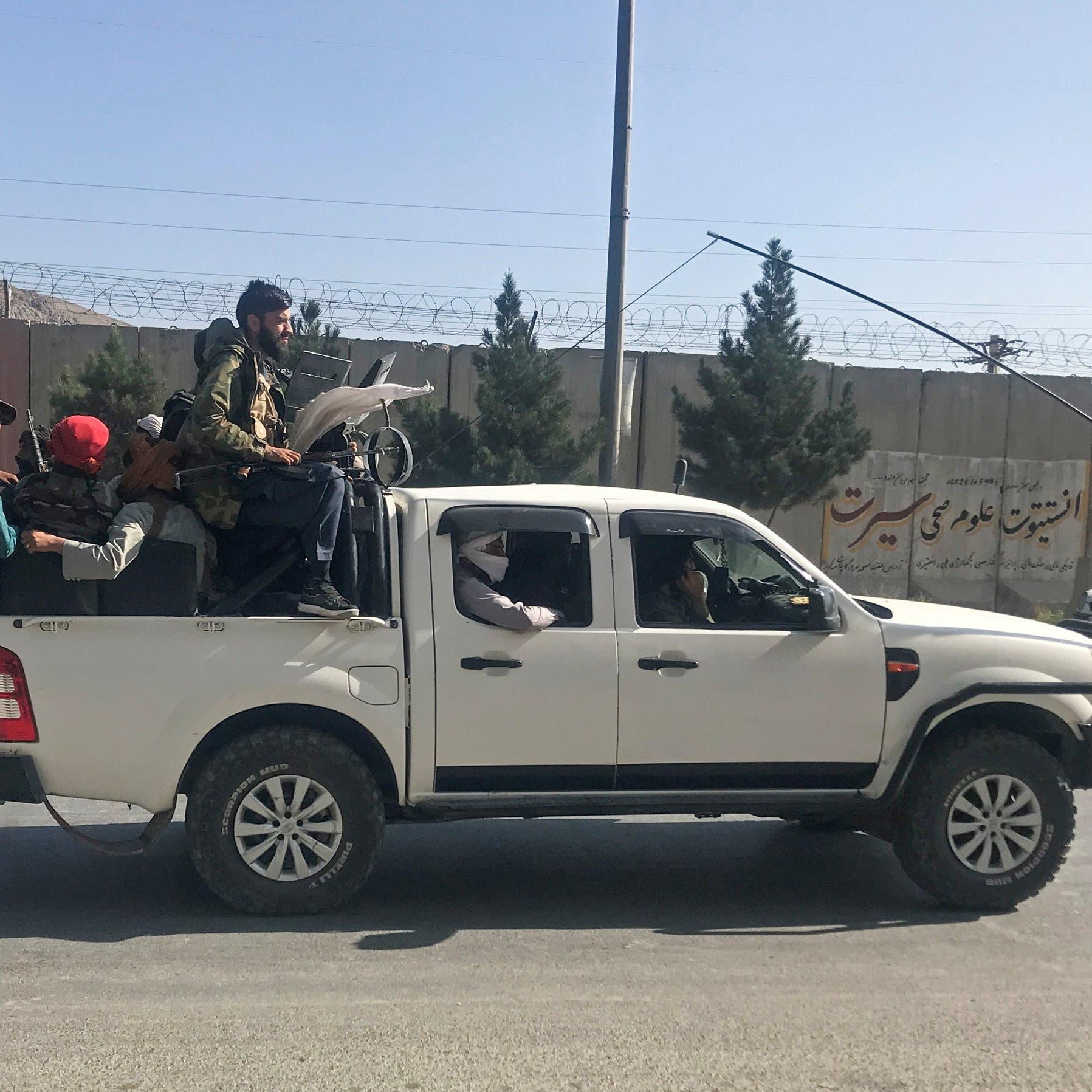 """بعد سيطرة طالبان.. شاهد كاميرا """"العربية"""" تتجول في كابل"""