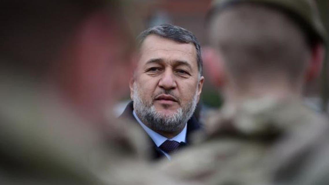 وزير الدفاع الأفغاني بسم الله محمدي