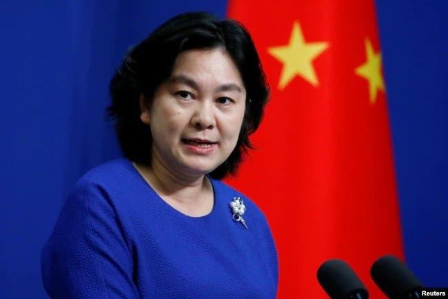چینی وزارت خارجہ کی ترجمان ہوا چن ینگ