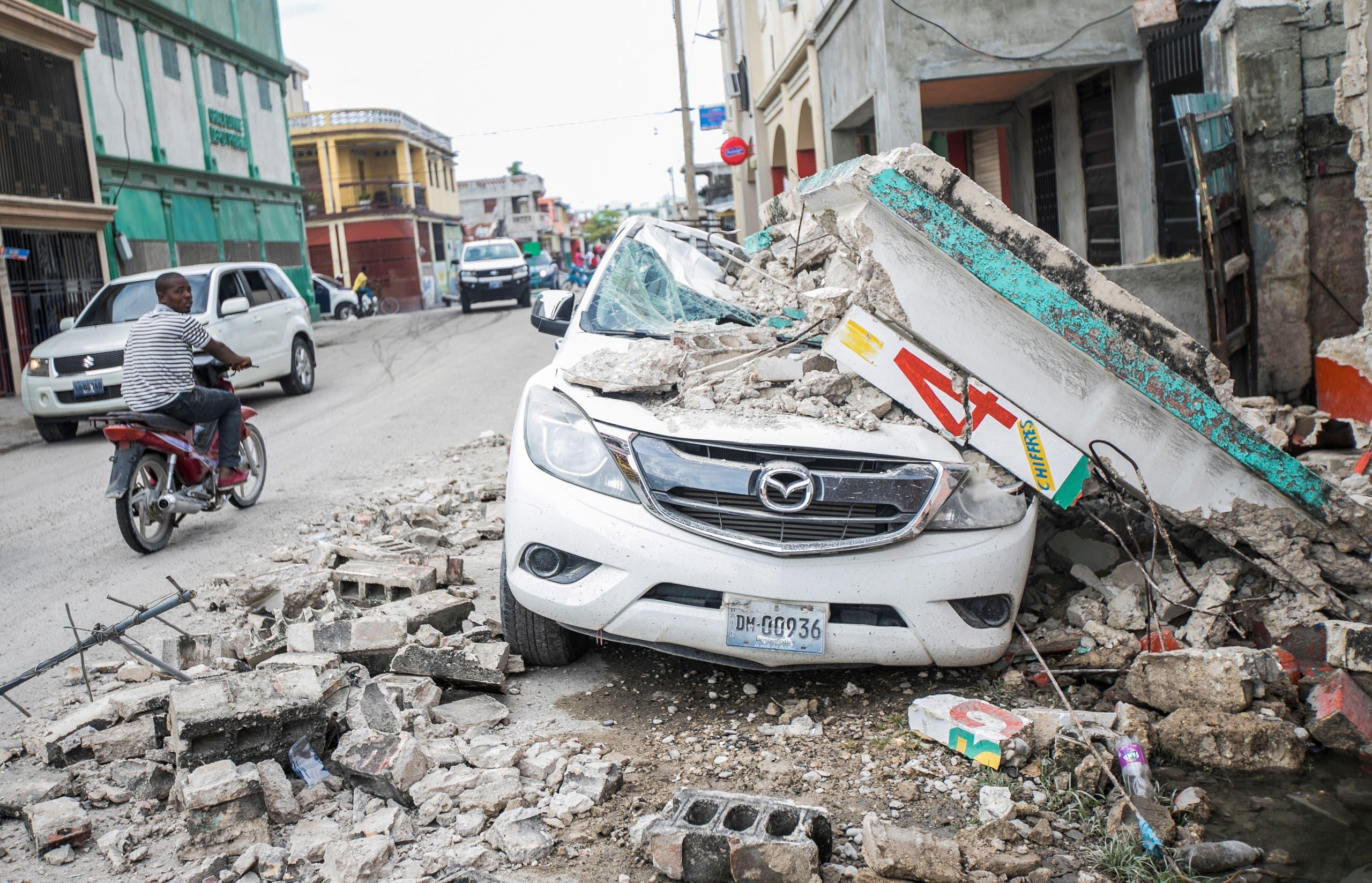 الدمار الذي خلفه الزلزال في هايتي