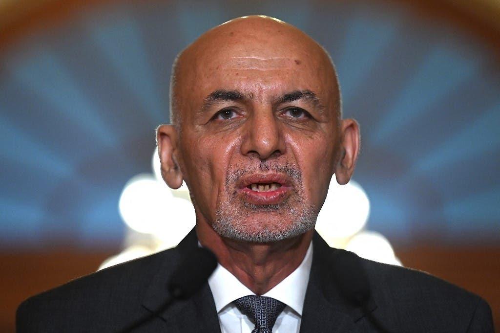 سابق افغان صدر اشرف غنی