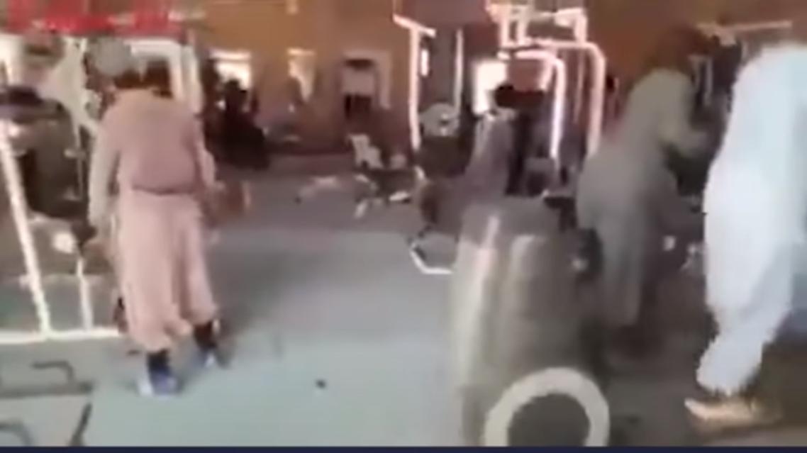 طالبان في الجيم