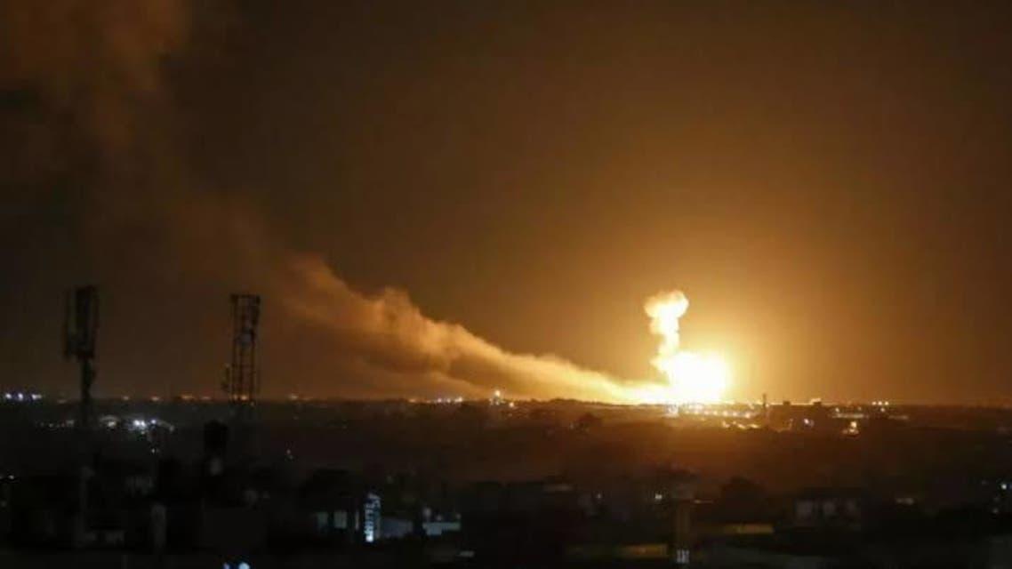 ضربات إسرائيلية  دمشق