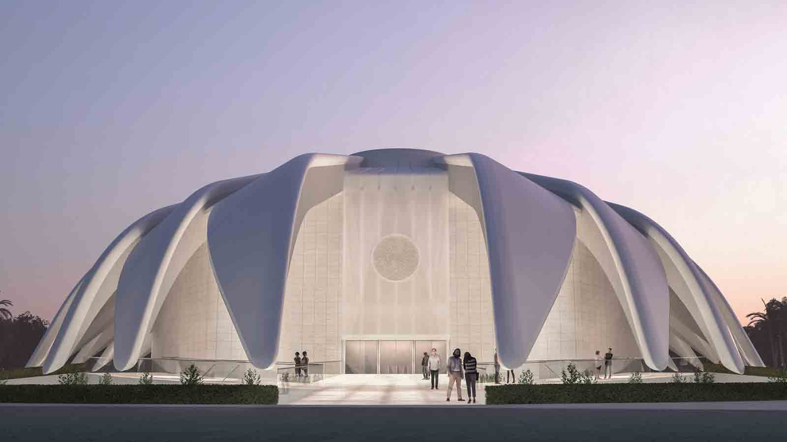 The UAE pavillion, which will sit at the heart of the nearly 500-acre exhibition area, will be seen by the roughly 25 million visitors and participants who are expected to visit the Expo from October 2020 to April 2021. (Supplied: Expo 2020)