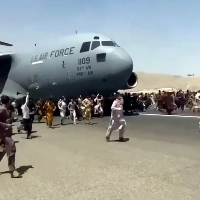 العثور على جثة أفغاني تشبث بطائرة عسكرية أقلعت من كابل
