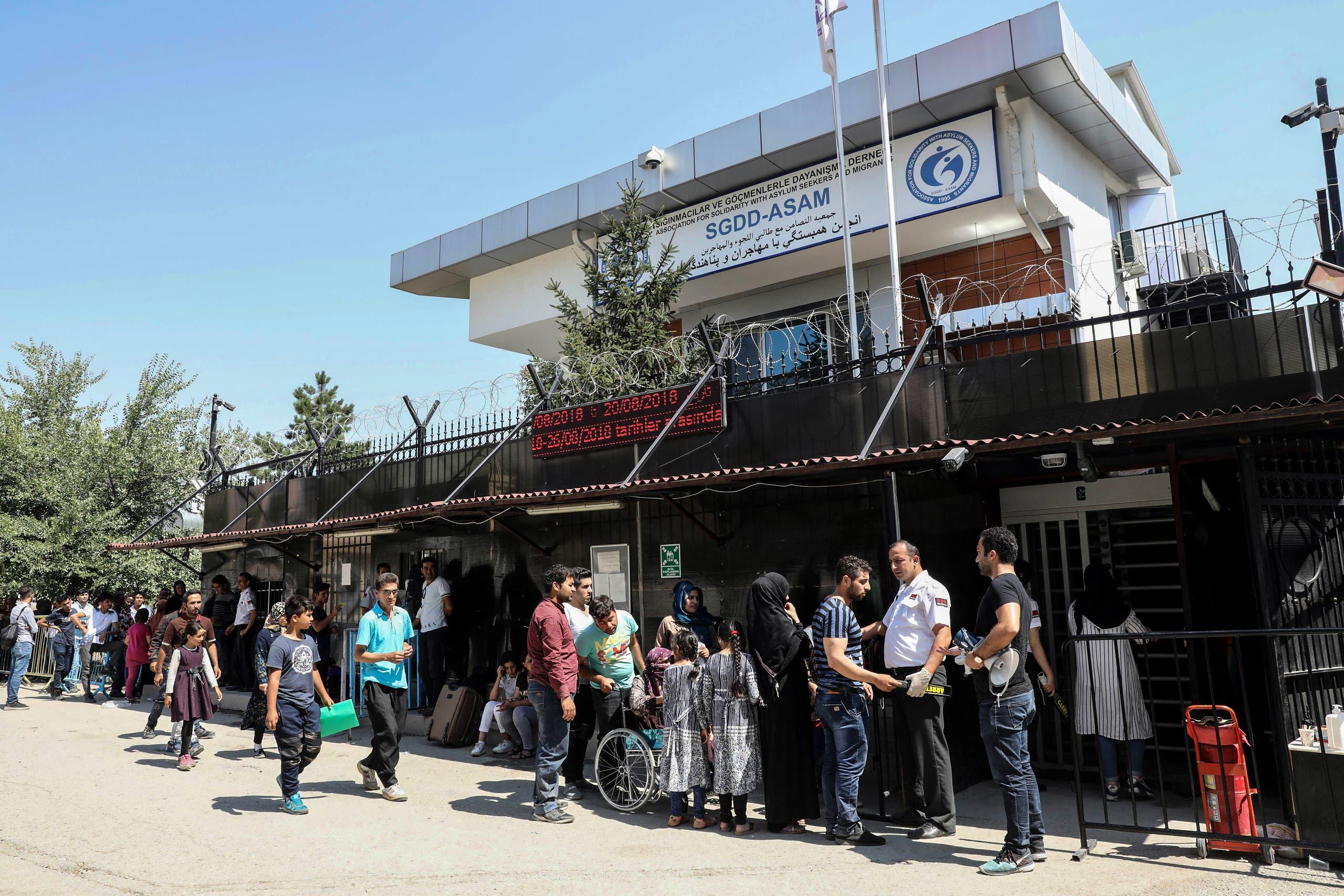 لاجئون أفغان في أنقرة (أرشيفية)
