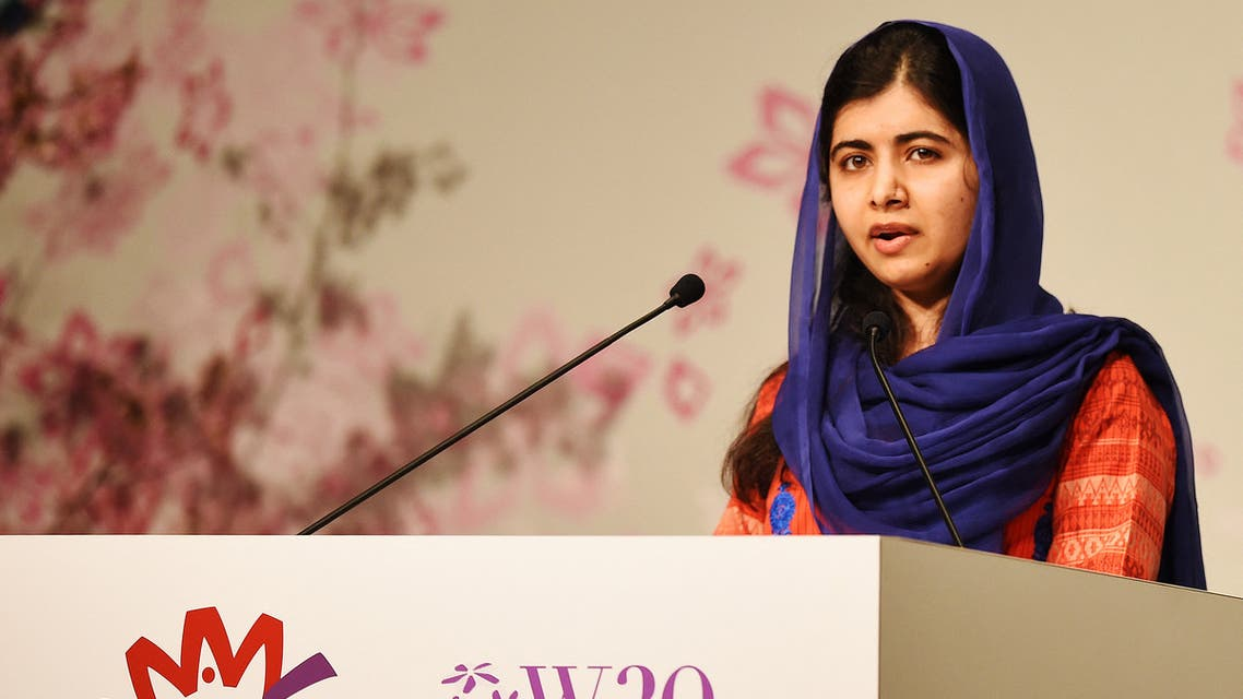Nobel Peace Prize laureate Malala Yousafzai delivers a speech during the World Assembly for Women (WAW) in Tokyo on March 23, 2019. (File photo: AFP)