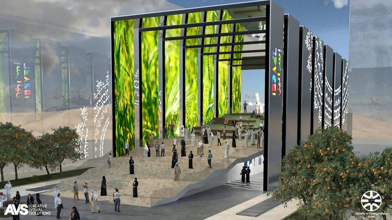 The Israeli pavilion at Expo 2020 Dubai draws inspiration from the arid landscapes of the Middle Eastern country and adopts the shape of sand dunes. (Supplied: Expo 2020)