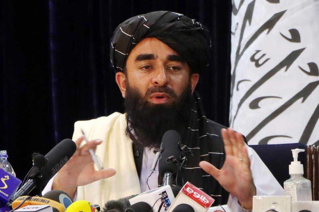 المتحدث باسم طالبان ذبيح الله مجاهد