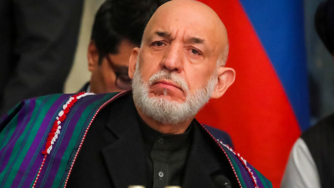 Afghan former President Hamid Karzai attends a conference arranged by the Afghan diaspora in Moscow, Russia February 5, 2019. (File photo: Reuters)