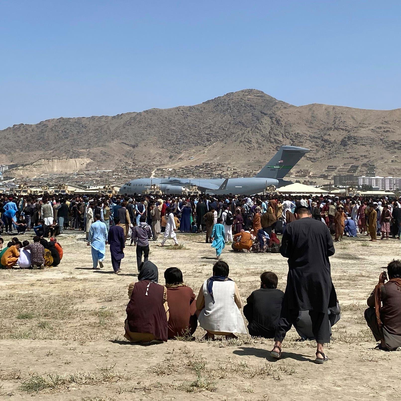 12 قتيلاً وفوضى بمطار كابل.. طالبان تدعو الأفغان للمغادرة