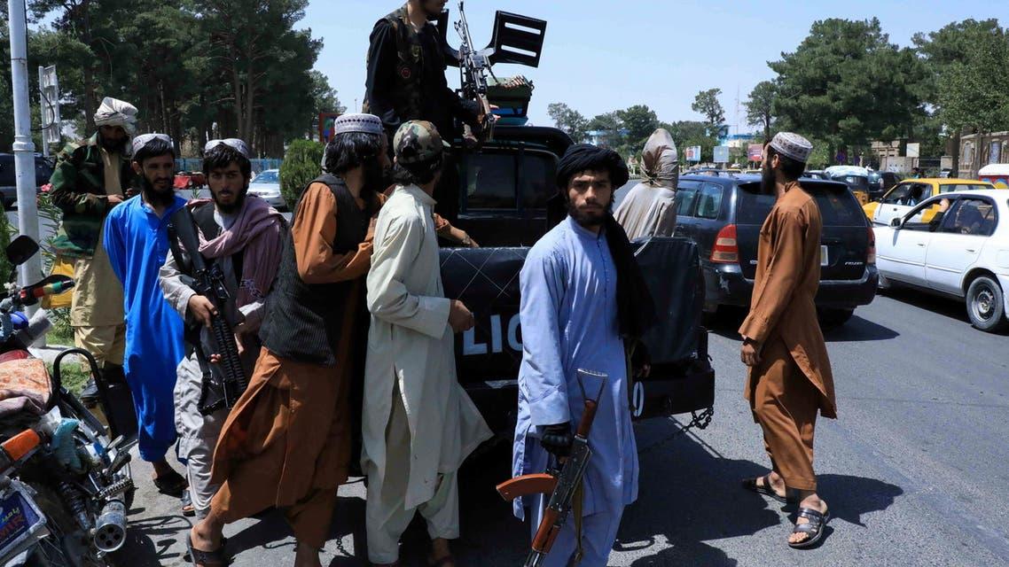 قوات تابعة لحركة طالبان أفغانستان
