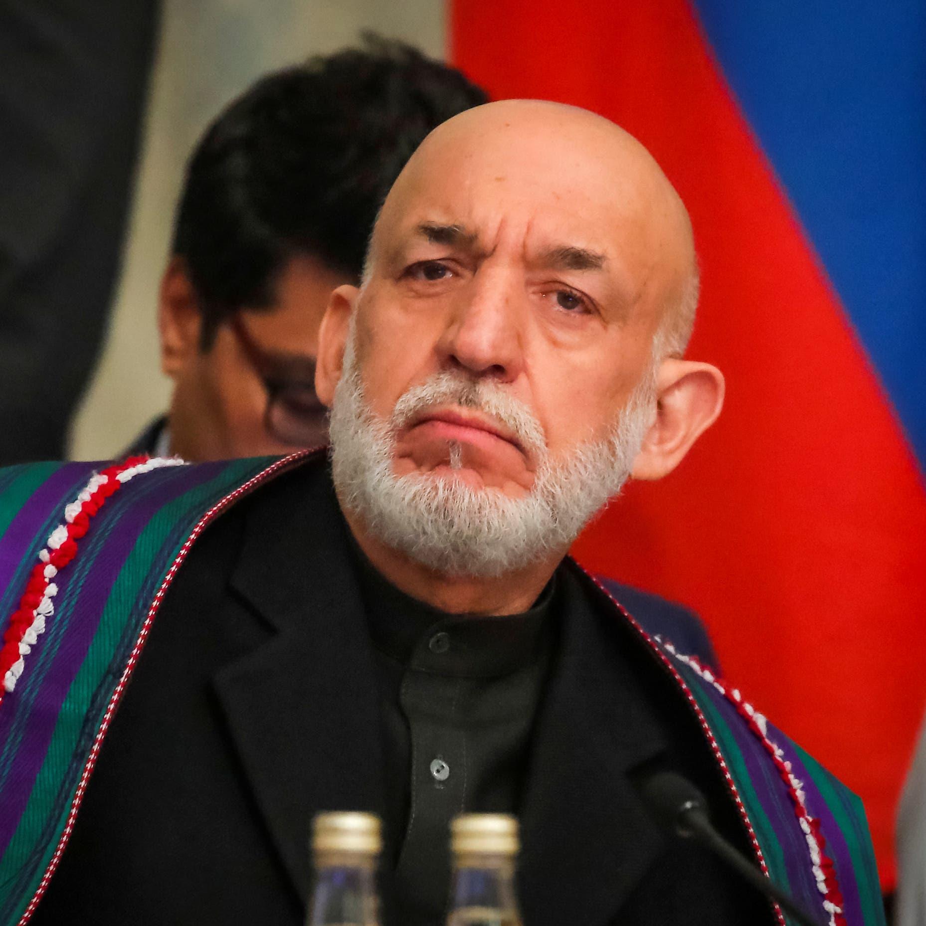 اجتماع بين قادة بطالبان ورئيس أفغانستان السابق حامد كرزاي