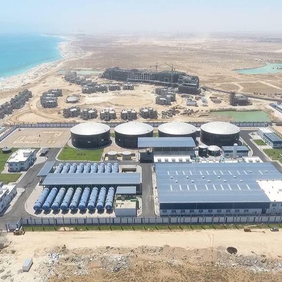 أول مشروع في مصر لتحلية المياه بالطاقة الشمسية في مرسى علم