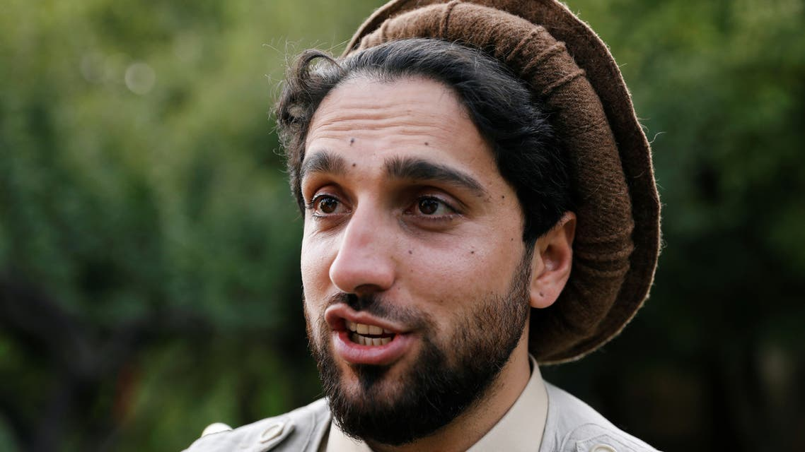 Ahmad Massoud, son of the slain hero of the anti-Soviet resistance, Ahmad Shah Massoud, speaks during an interview at his house in Bazarak, Panjshir province Afghanistan September 5, 2019. Picture taken September 5, 2019.REUTERS/Mohammad Ismail
