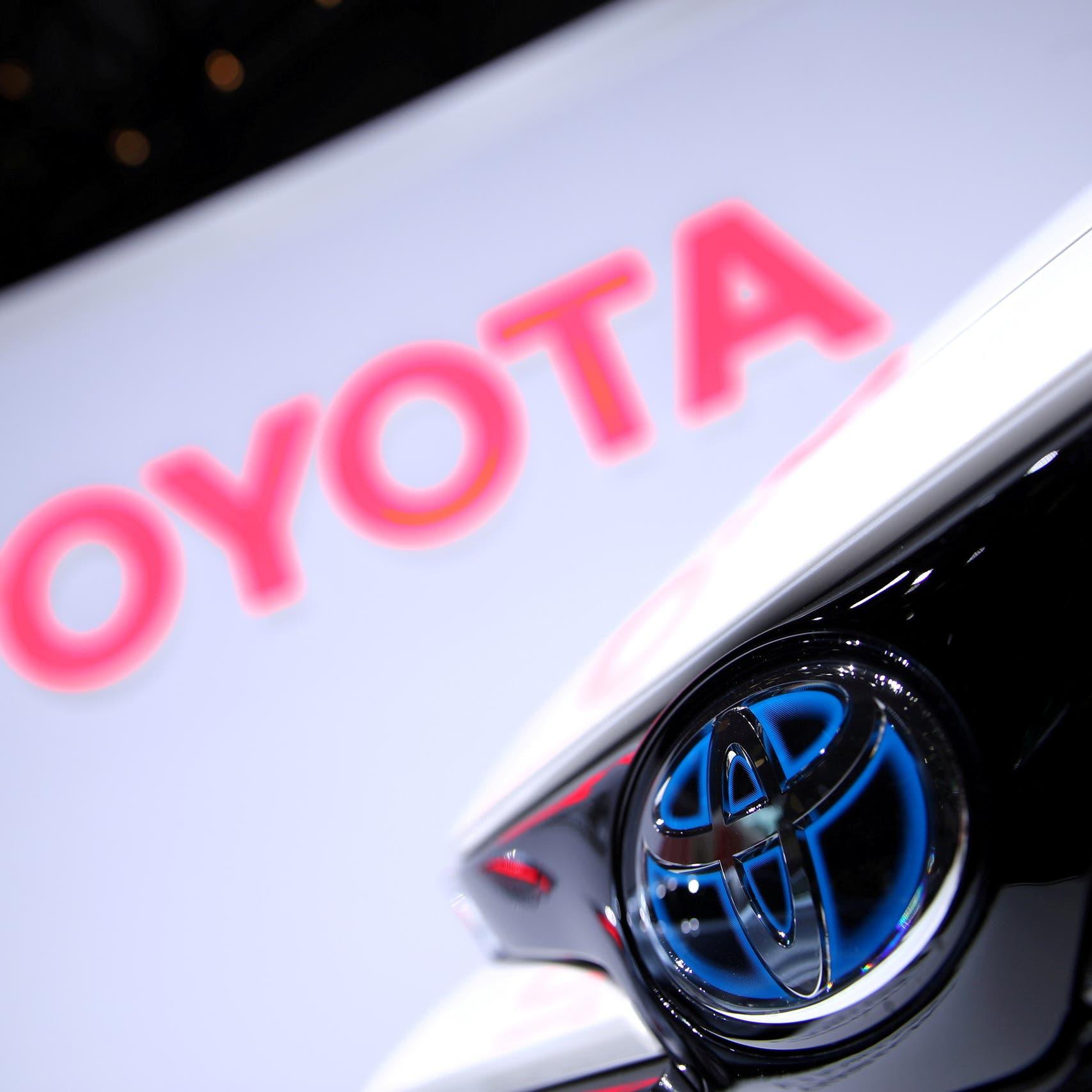 شركة تويوتا تخفض إنتاجها 40% في سبتمبر بسبب نقص الرقائق
