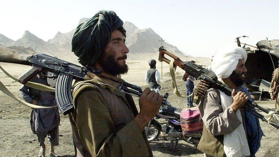 جانب من مقاتلي حركة طالبان