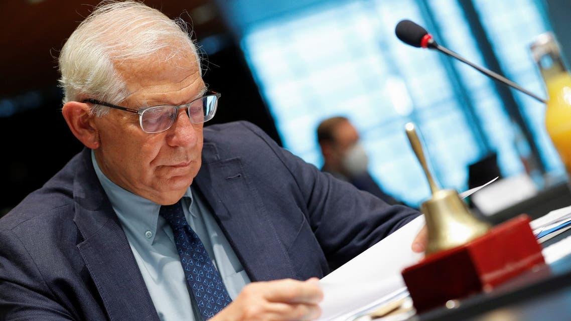 ممثل السياسة الخارجية للاتحاد الأوروبي جوزيب بوريل (أرشيفية- فرانس برس)