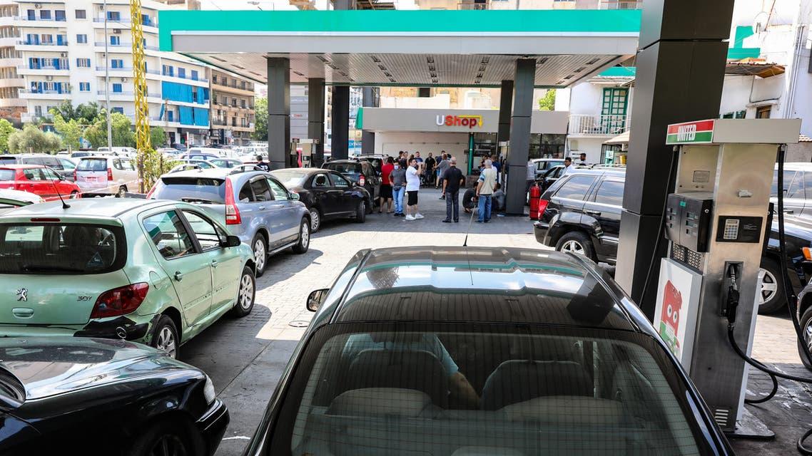 أزمة البنزين تتفاقم في لبنان (أرشيفية- فرانس برس)