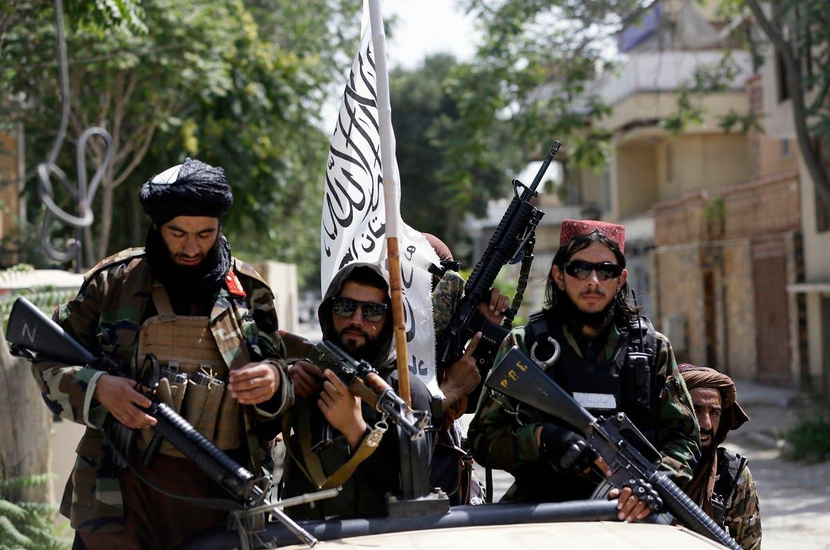 عناصر من حركة طالبان في كابل 19 أغسطس 2021 - فرانس برس