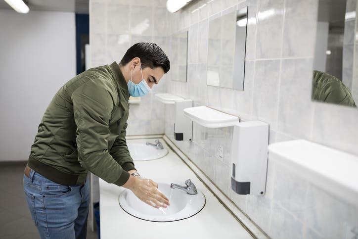 غسل اليدين (آيستوك)