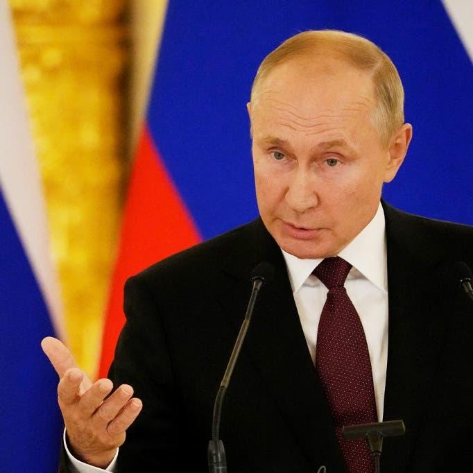 الرئيس الروسي يحمل الأوروبيين مسؤولية أزمة أسعار الغاز