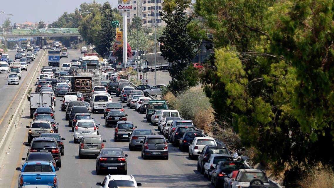 بحران سوخت ىر لبنان