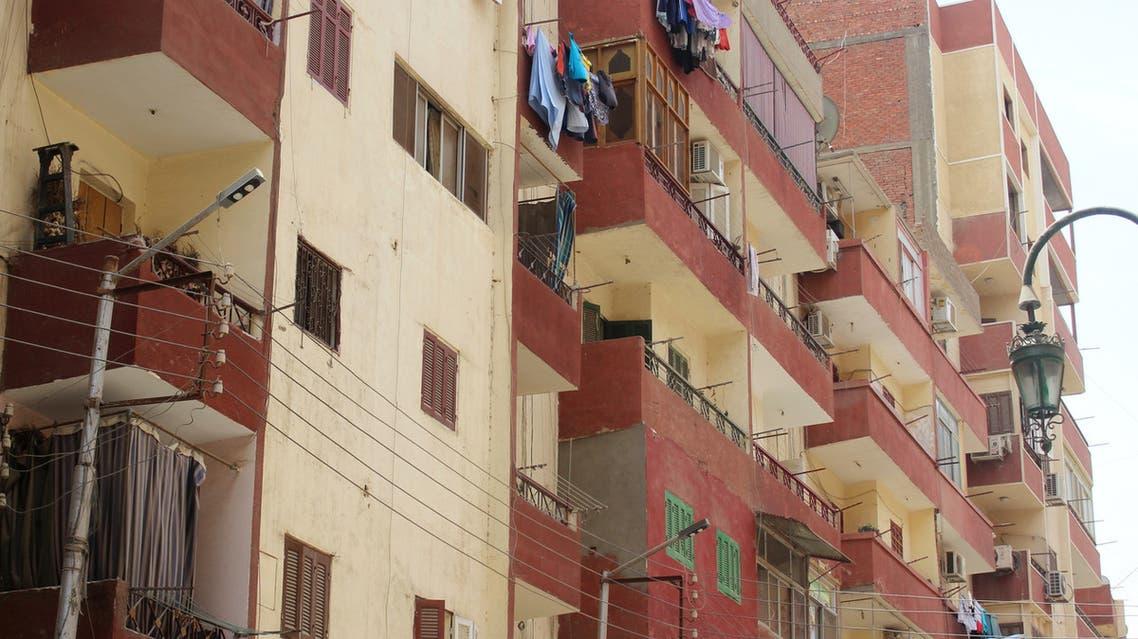 بناية سكنية في مصر - تعبيرية