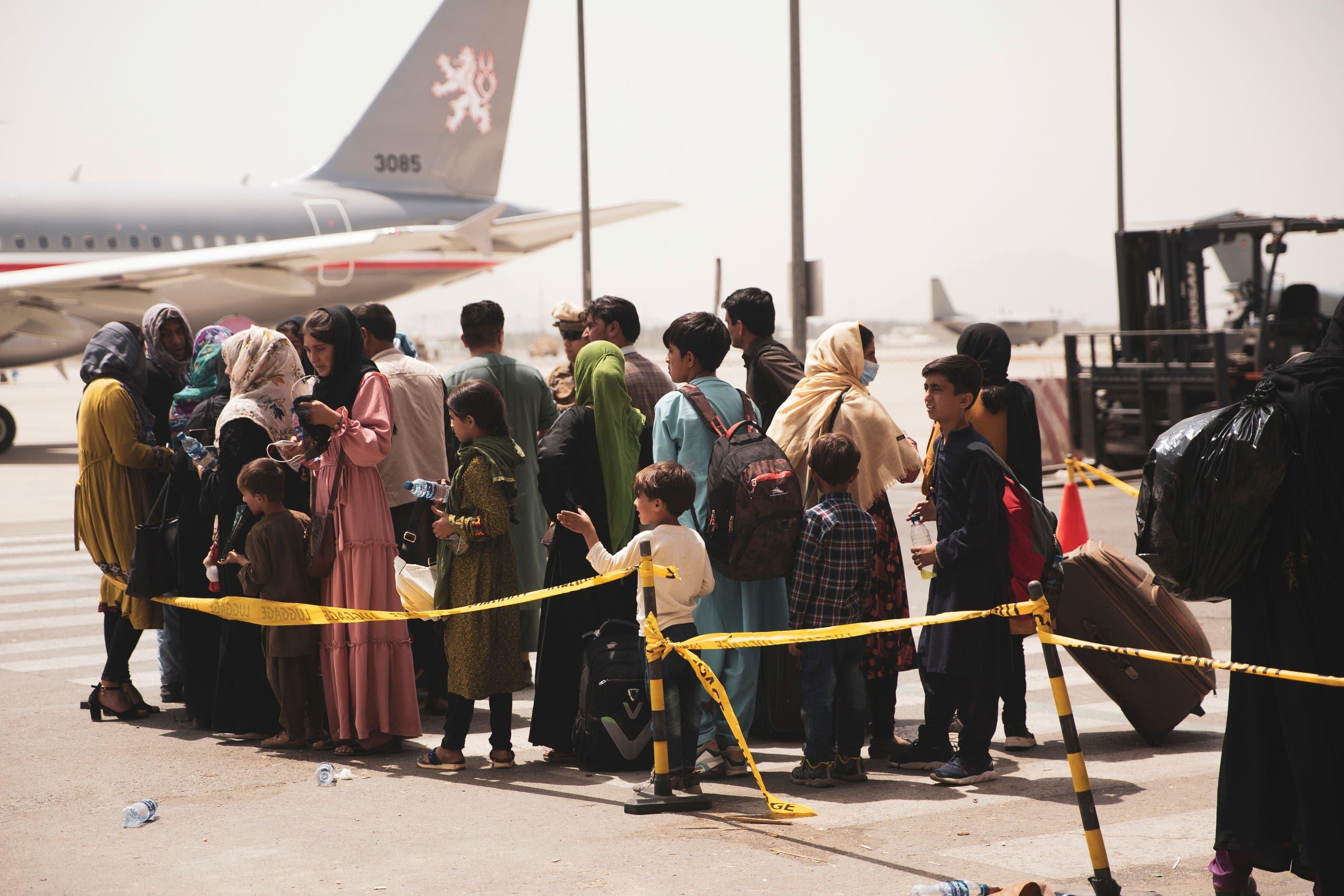 من مطار كابل (أرشيفية من رويترز)
