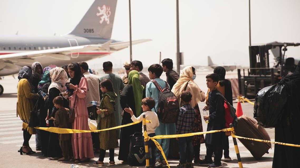من مطار كابل (رويترز)
