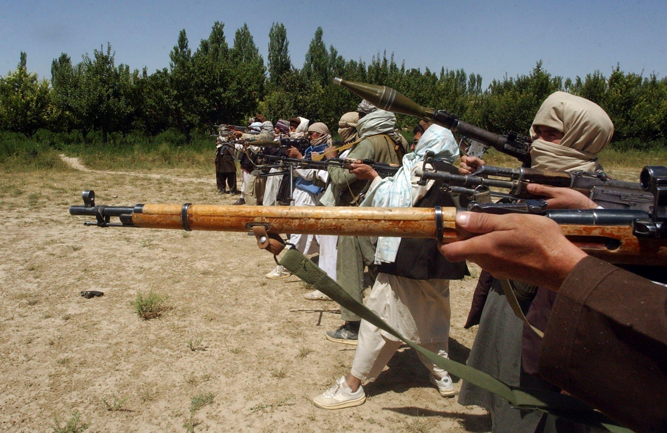 عناصر من طالبان (أرشيفية من رويترز)