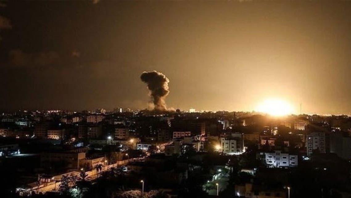 قصف إسرائيلي على دمشق - أرشيفية