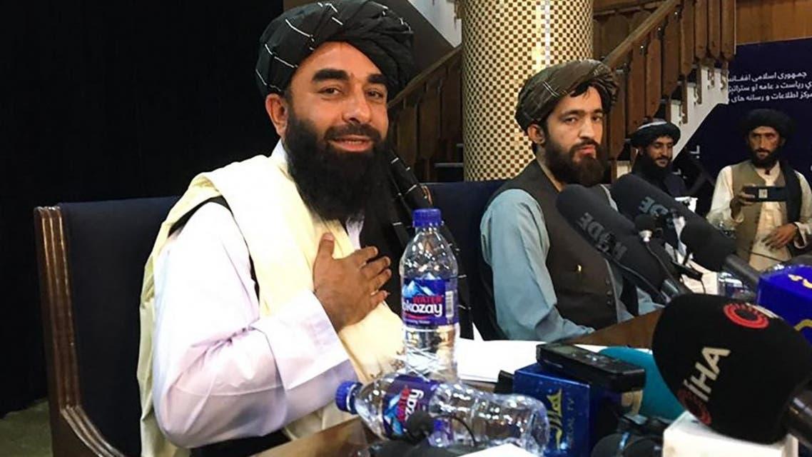 المتحدث باسم حركة طالبان ذبيح الله مجاهد (أرشيفية- فرانس برس)