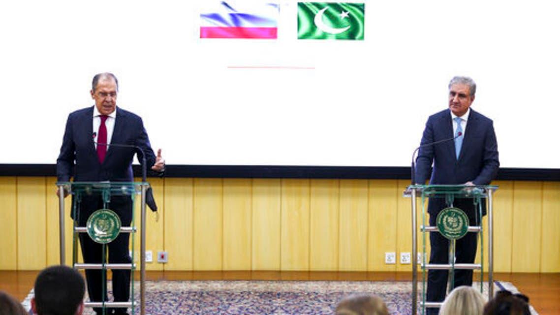 وزيرا خارجية روسيا وباكستان (أ ب - أرشيفية)