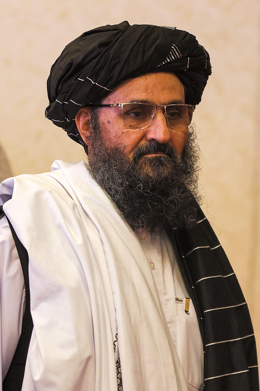 The second man of the Taliban movement, mullah Abdul Ghani Baradar (Archive - Afp)