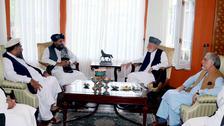 نشست حامد کرزی و عبدالله عبدالله با طالبان برای تامین امنیت کابل