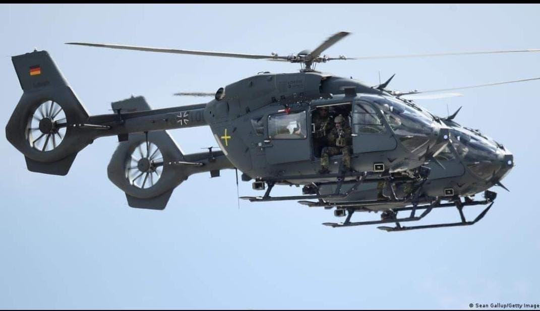 چرخبالهای (هلیکوپتر) ارتش آلمان