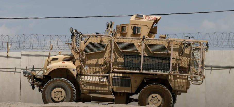 آلية عسكرية أميركية
