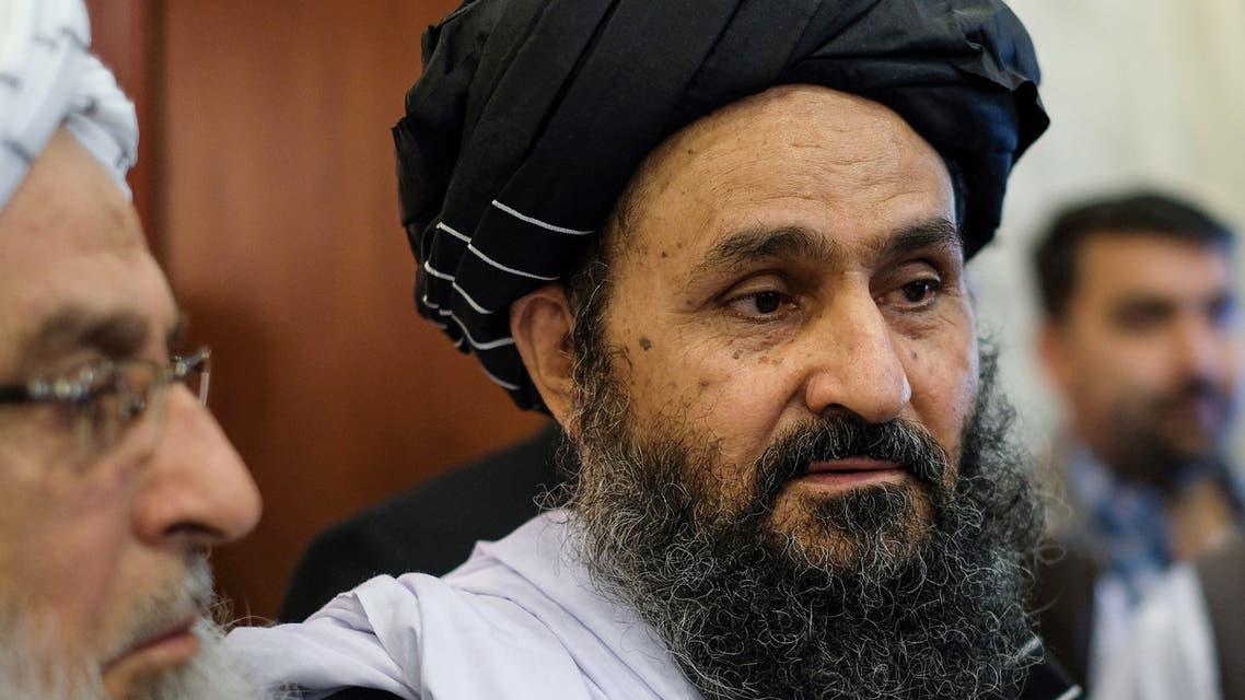 الرجل الثاني في حركة طالبان الملا عبد الغني برادر (أرشيفية- فرانس برس)