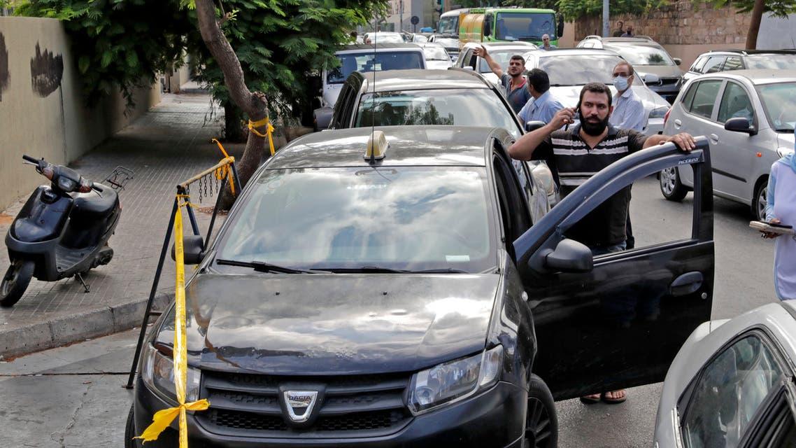 بحران بنزین در لبنان، فرانس پرس