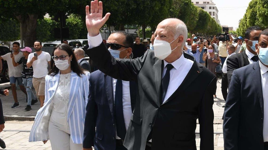 الرئيس التونسي قيس سعيد (أرشيفية- فرانس برس)