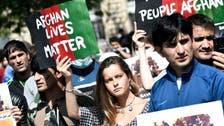 'Afghan lives matter': Hundreds of people, including Afghans, demonstrate in Paris