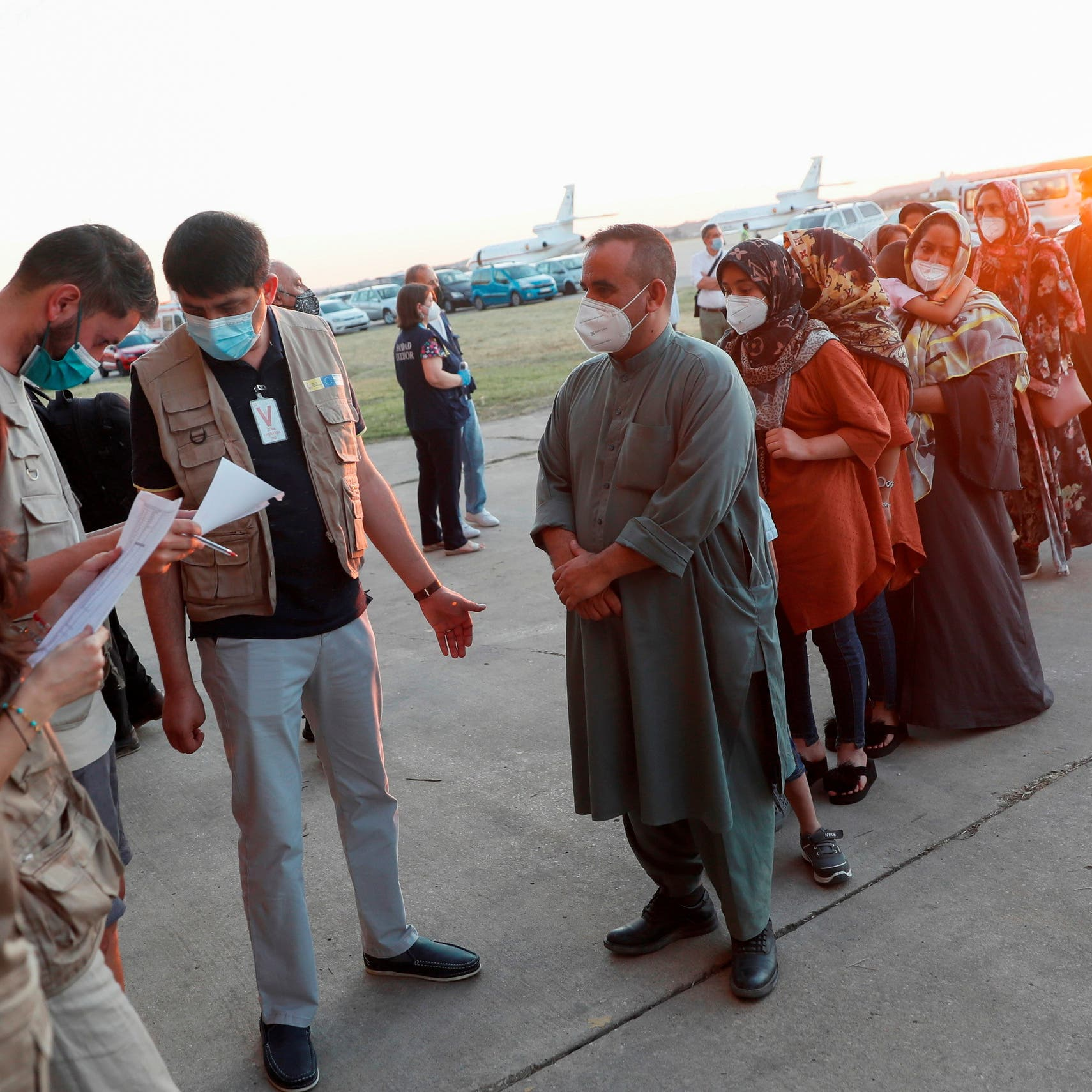 US Biden administration to use 18 commercial planes to transport Afghan evacuees